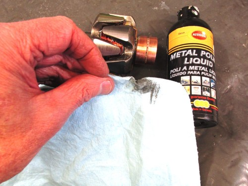 Use Metal Polish To Clean Rotor Slip Rings