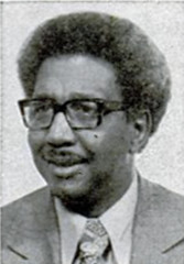 Calvin Rolark, founder of United Black Fund: 1970 ca.