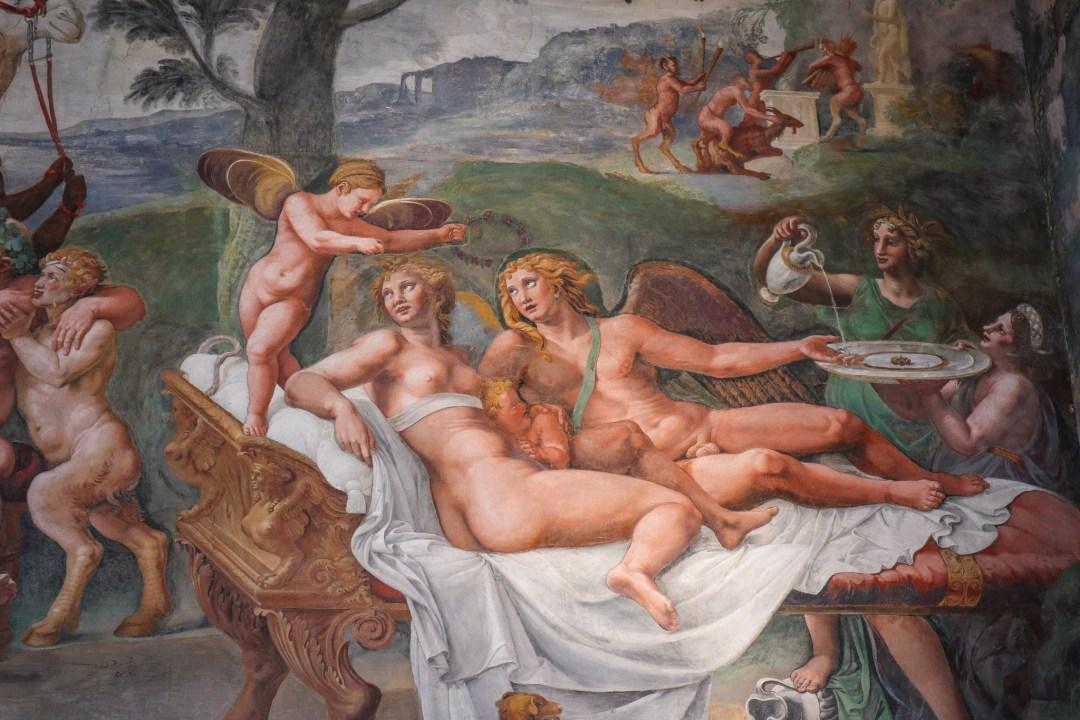 Sala di Amore e Psiche, Palazzo Te, Mantova