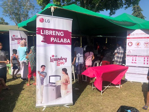 LG Philippines Laundry Love campaign Taal Volcano