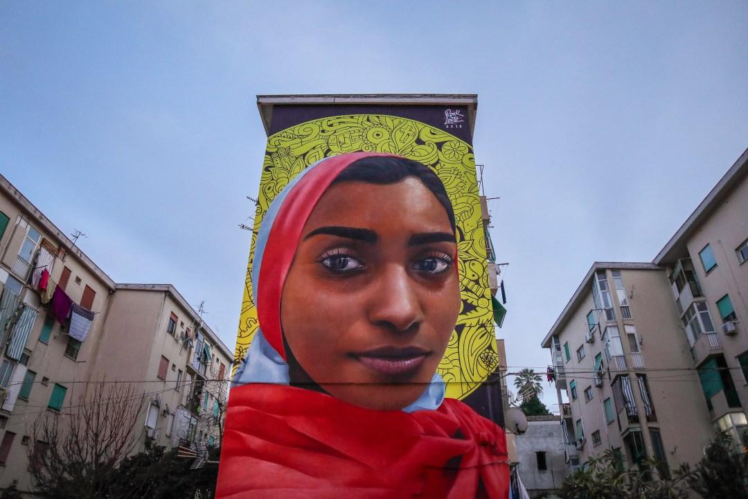 Street art a Palermo, Rosk e Loste