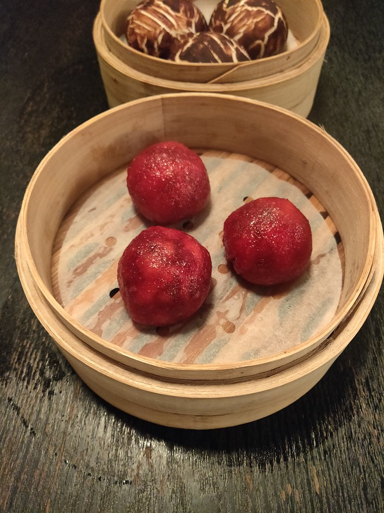 Beetroot Dumplings Dim Sum Library