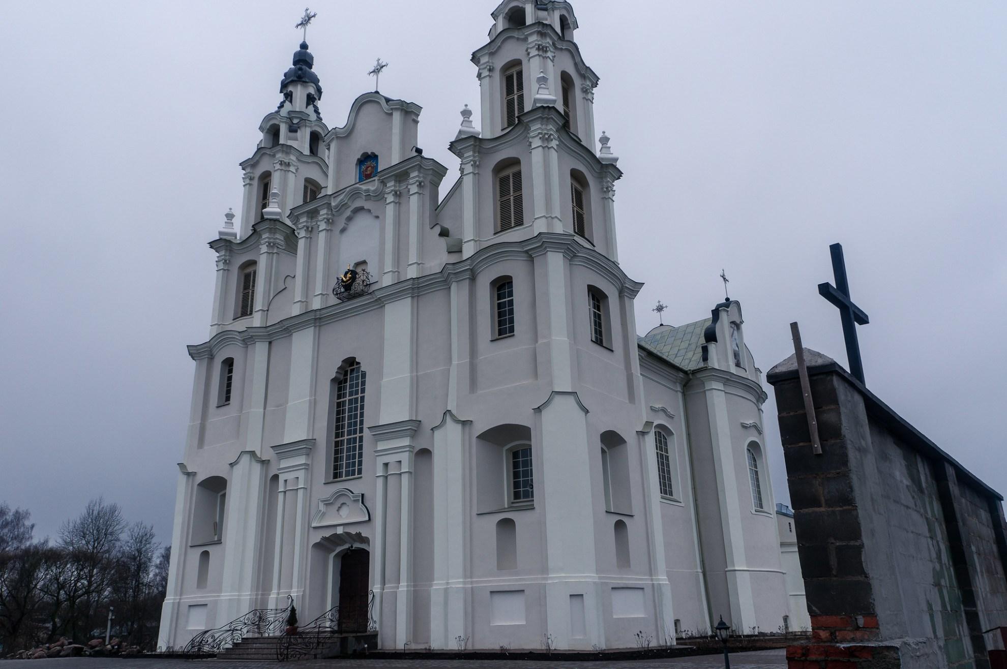 Костёл святого Архангела Михаила. Ивенец