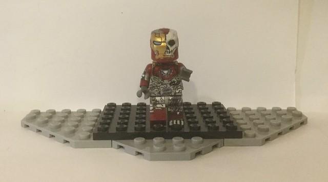 Lego Custom: Zombie Iron Man/Illusion Iron Man (Marvel/Spider-Man Far From Home)