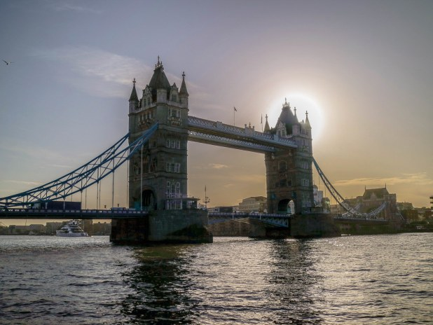 Ruta a pie por el centro de Londres desde Tower Bridge