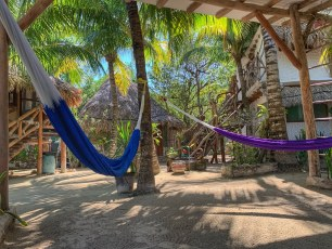 Stop! Hammock time on Isla Holbox! (jan 2020)