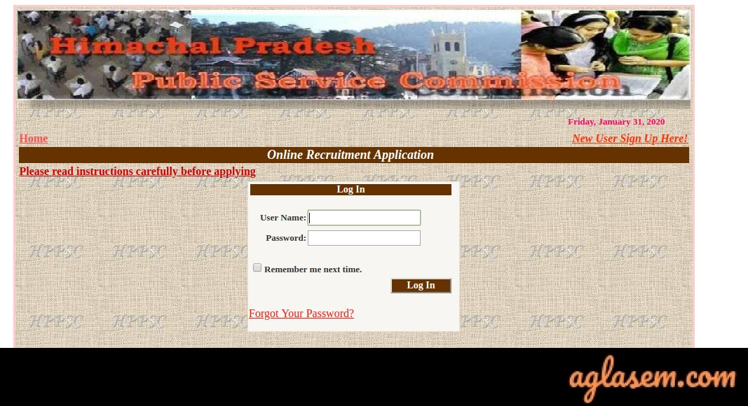How To Download HPPSC HPAS Admit Card 2020?