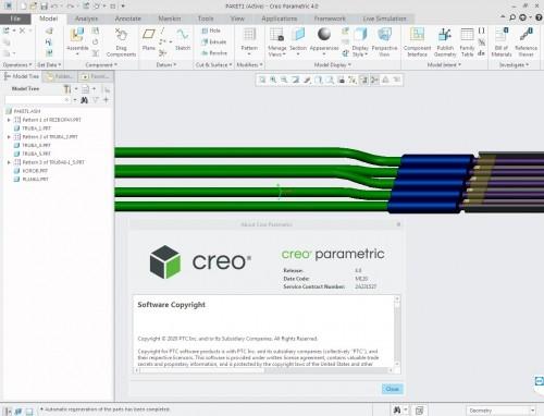Working with PTC Creo 4.0 M120 win64 full license