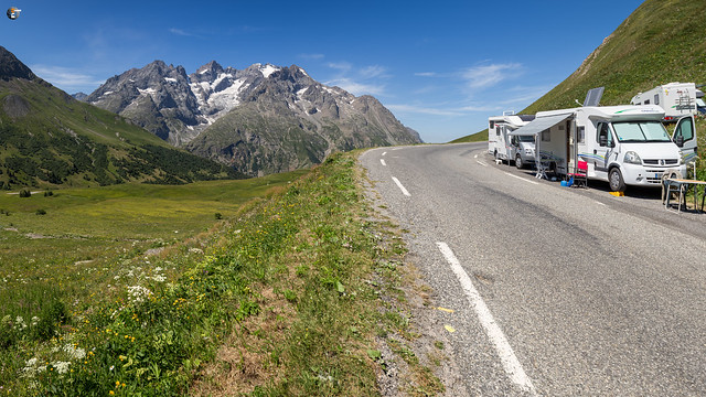 South ramp of Col du Galibier