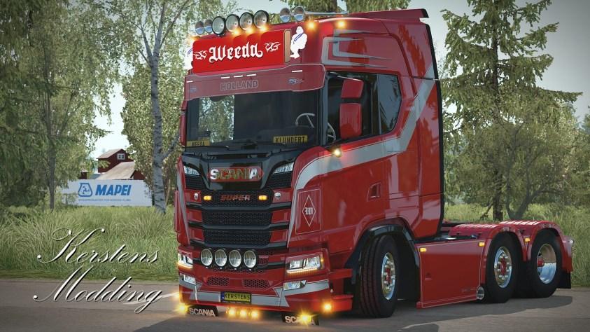 Weeda Scania S500