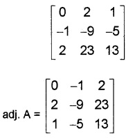 Plus Two Maths Determinants 6 Mark Questions and Answers 42