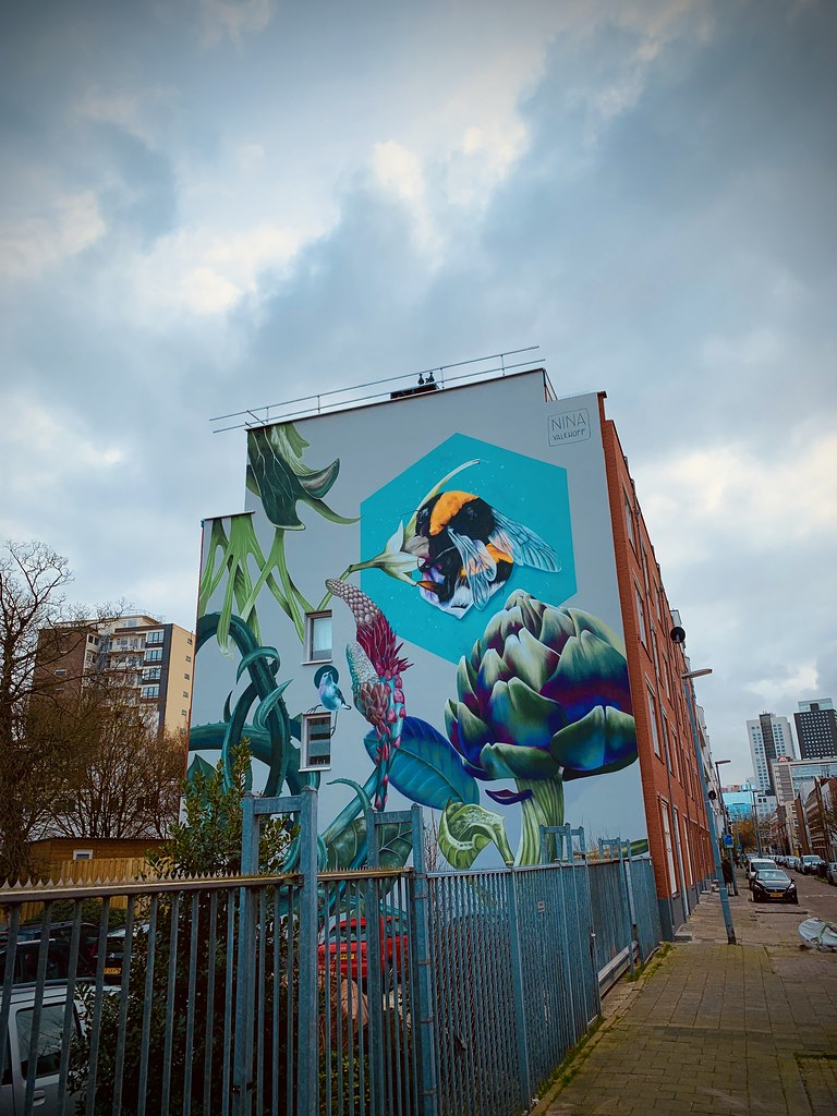 Rotterdam Daily Photo: Bee there, at mural tuesday!