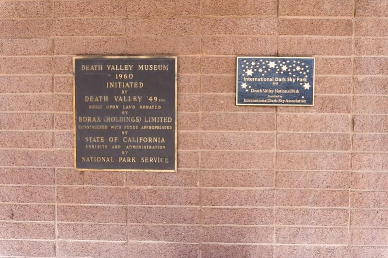 National Park Service Visitor Center at Death Valley National Park, Calif., July 2019