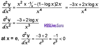 Plus Two Maths Application of Derivatives 4 Mark Questions and Answers 42