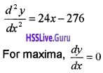 Plus Two Maths Application of Derivatives 6 Mark Questions and Answers 87