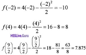 Plus Two Maths Application of Derivatives 3 Mark Questions and Answers 18