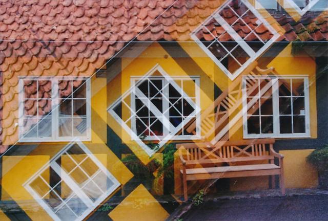 half-timbered houses, series III: Gudhjem