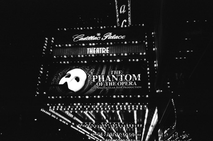 Phantom of the Opera at the Cadillac Palace Theatre