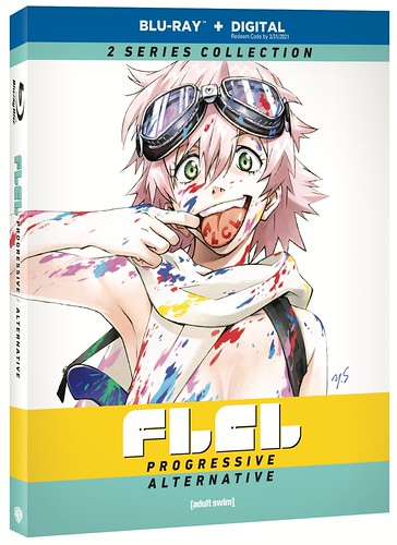 FLCL: Progressive and Alternative - Funko POP! /Blu-ray Combo Pack @WBHomeEnt #MySillyLittleGang