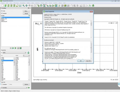 Working with Tecplot RS 2019 R1 m1 full license
