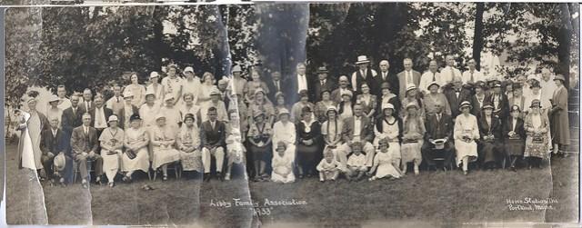 """Libby Family Association """"1933"""" - Howe Studios Inc, Portland, Maine - 67.16.01"""