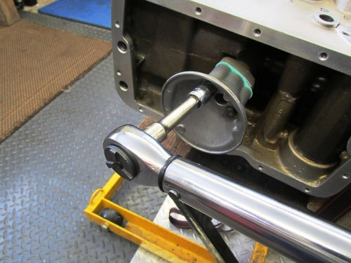 Torque Oil Pump Suction Housing To Flange