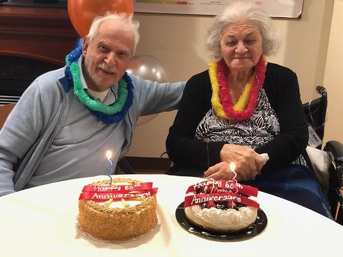 Vaugahn - Momo and dad's anniversary