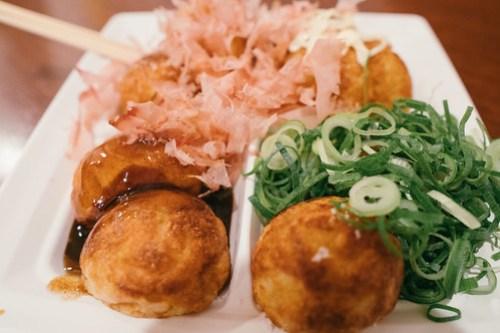 Takoyaki at Wanaka, Osaka, Japan