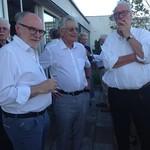 Jochen Heufelder, Gerhart Baum, Martin Stankowski 2019
