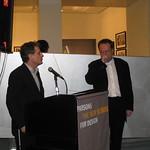 Tim Marshall & Michael Erlhoff at Parsons 2010