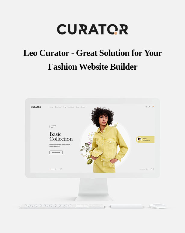 Leo Curator Fashion PrestaShop Theme