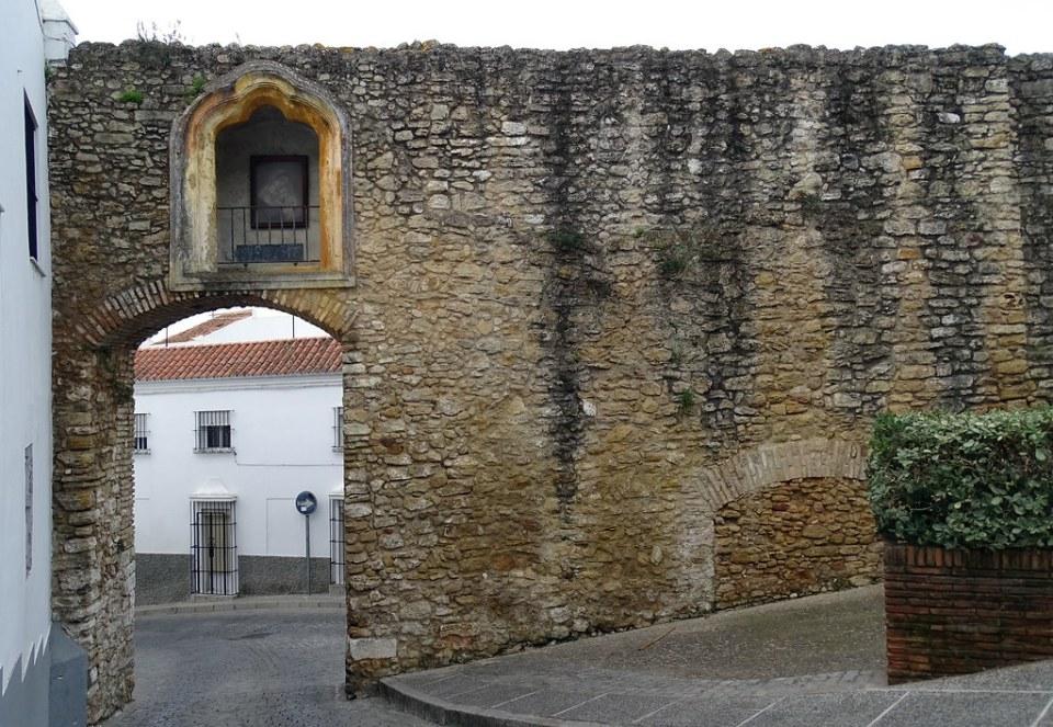 Arco de Belen puerta de muralla Medina Sidonia Cadiz 01