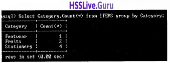 Plus Two Computer Application Structured Query Language Let Us Assess Questions and Answers 23