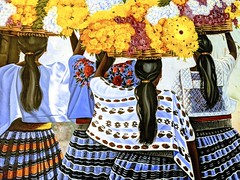 Mexican Flower Girls