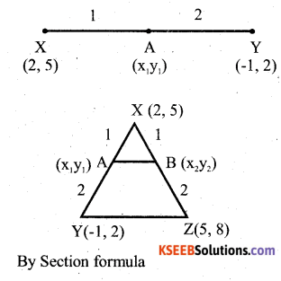 Karnataka SSLC Maths Model Question Paper 5 With Answer - 26