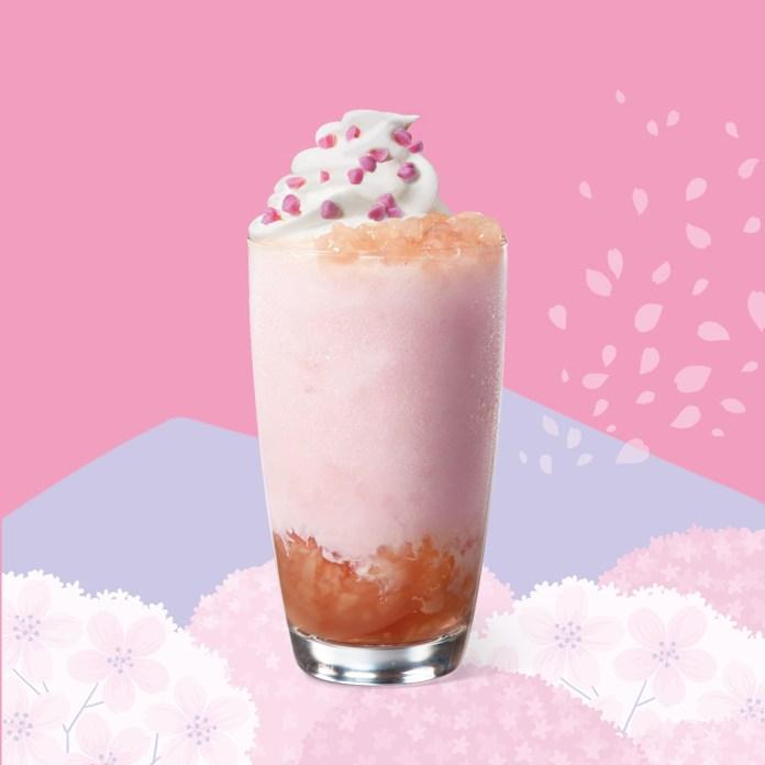 星巴克 2020年春季 Starbucks_Pink Peach Blossom Frappuccino®