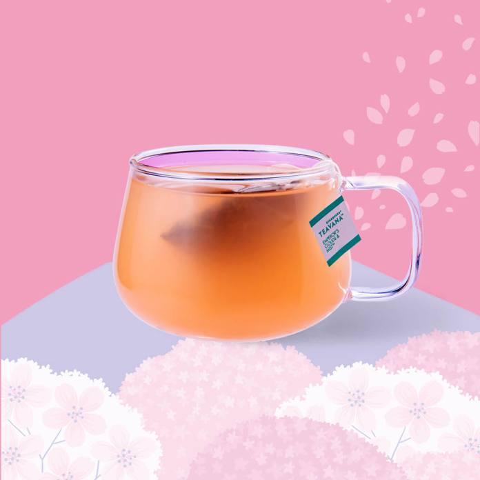 星巴克 2020年春季 Starbucks_Pink Peach Blossom Green Tea Lemonade