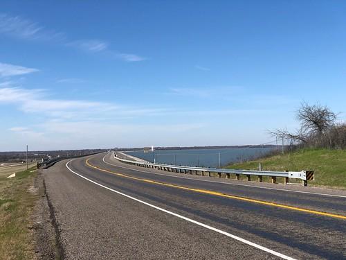 Ray Roberts Lake State Park TX - the dam
