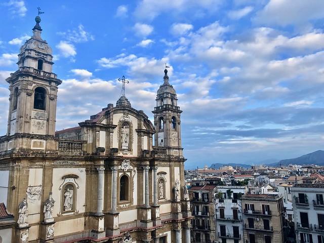 Palermo dall'alto: Rinascente