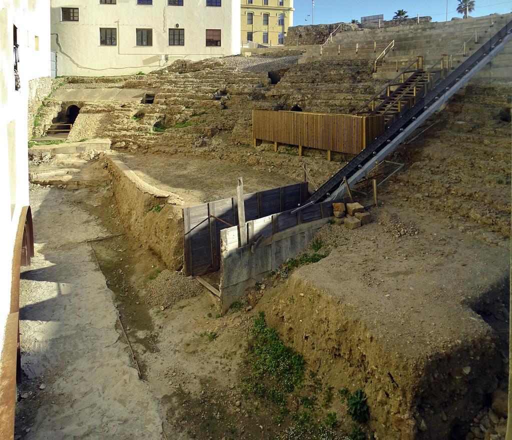 gradas del Teatro Romano Cadiz 09