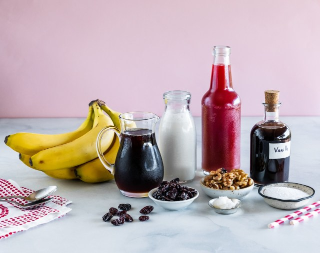 these smoothie ingredients are all vegan