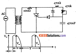 2nd PUC Electronics Question Bank Chapter 9 Power Electronics and its Applications 33