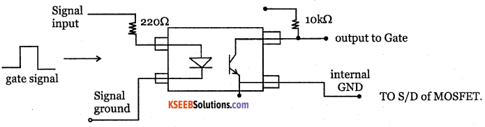 2nd PUC Electronics Question Bank Chapter 9 Power Electronics and its Applications 40