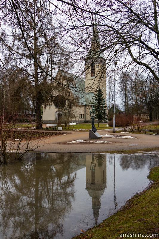 Лютеранская кирха Преображения Господня, Санкт-Петербург, Зеленогорск, Терийоки