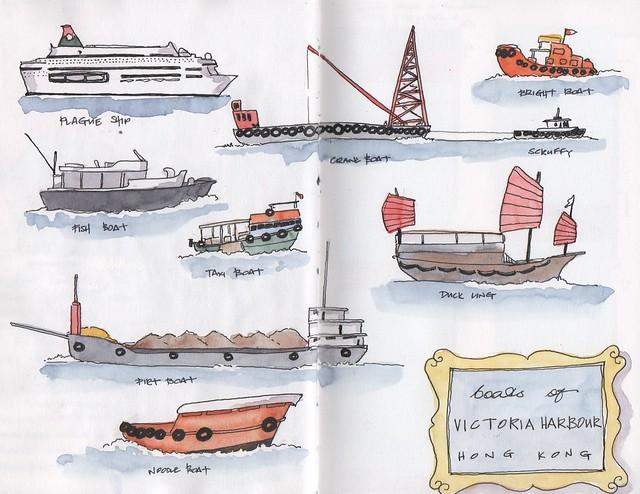 20200219 - HK boats