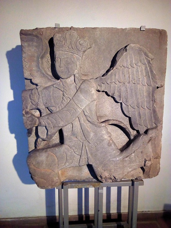 A winged angel from the 15th century Selçuk period. by bryandkeith on flickr