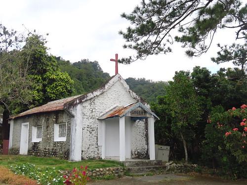 【寫生】台東「山里福音教會」:僅剩一戶教友的小教堂(15.5ys)