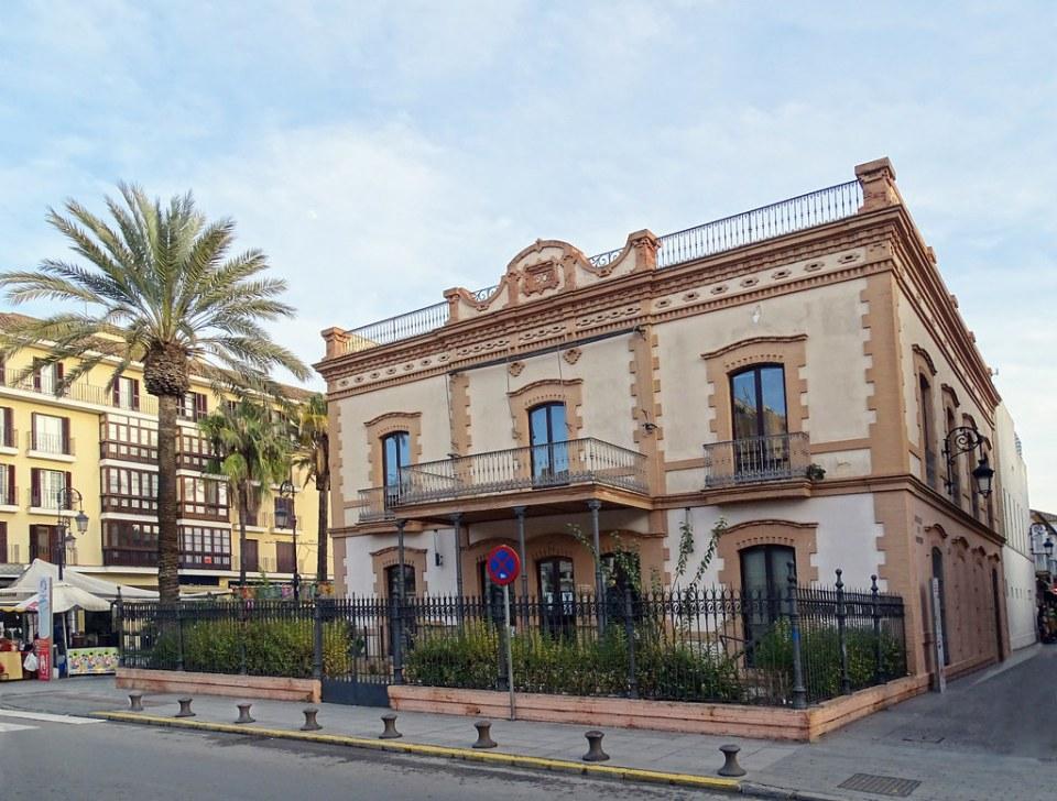 edificio antigua Comandancia de Marina Sanlucar de Barrameda Cadiz