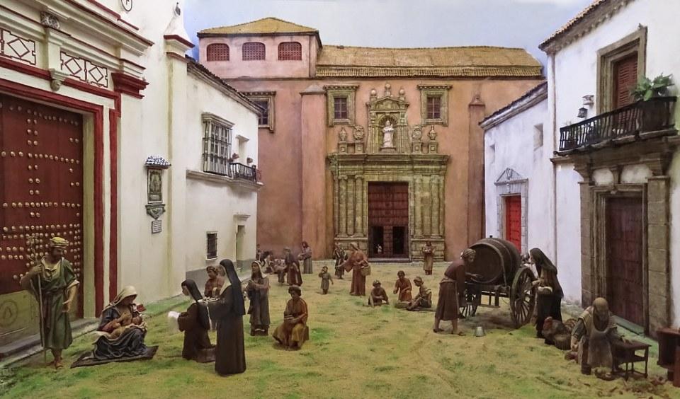 Belen Nacimiento interior Convento de Regina Coeli Sanlucar de Barrameda Cadiz 03
