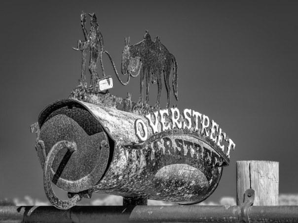 A Mailbox on Joe Overstreet Road